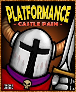 Platformance: Castle Pain new cover