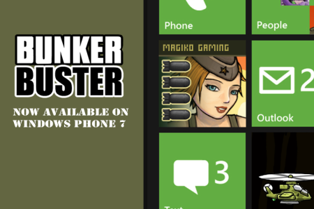 Bunker Buster on Windows Phone 7