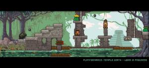 Platformance: Temple Death - work in progress jungle